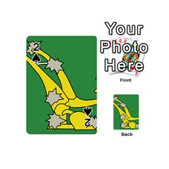 Starry Plough Flag Playing Cards 54 (Mini)