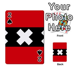 Flag Of Amsterdam Playing Cards 54 Designs