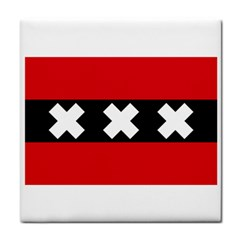 Flag Of Amsterdam Face Towel