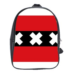 Flag Of Amsterdam School Bags(Large)