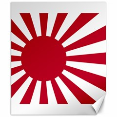 Ensign Of The Imperial Japanese Navy And The Japan Maritime Self Defense Force Canvas 8  X 10