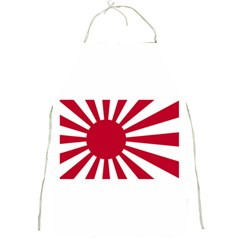 Ensign Of The Imperial Japanese Navy And The Japan Maritime Self Defense Force Full Print Aprons