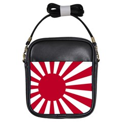 Ensign Of The Imperial Japanese Navy And The Japan Maritime Self Defense Force Girls Sling Bags