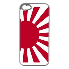 Ensign Of The Imperial Japanese Navy And The Japan Maritime Self Defense Force Apple Iphone 5 Case (silver)