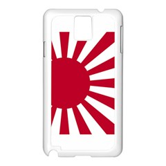 Ensign Of The Imperial Japanese Navy And The Japan Maritime Self Defense Force Samsung Galaxy Note 3 N9005 Case (white)