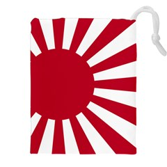 Ensign Of The Imperial Japanese Navy And The Japan Maritime Self Defense Force Drawstring Pouches (xxl)