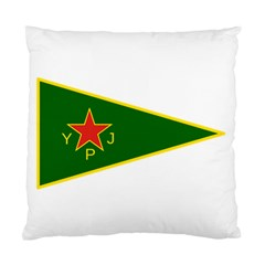 Flag Of The Women s Protection Units Standard Cushion Case (one Side)