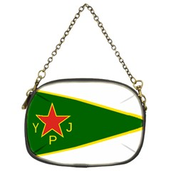 Flag Of The Women s Protection Units Chain Purses (two Sides)