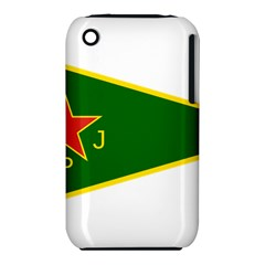 Flag Of The Women s Protection Units Apple Iphone 3g/3gs Hardshell Case (pc+silicone)