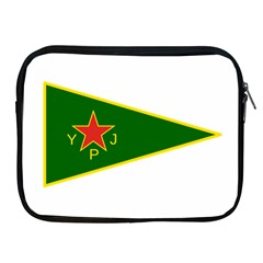 Flag Of The Women s Protection Units Apple iPad 2/3/4 Zipper Cases