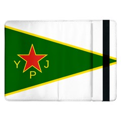Flag Of The Women s Protection Units Samsung Galaxy Tab Pro 12.2  Flip Case