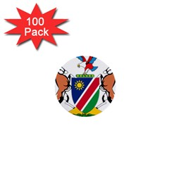 Coat Of Arms Of Namibia 1  Mini Buttons (100 pack)
