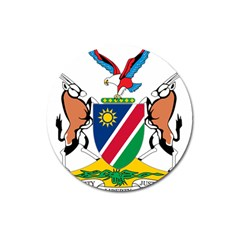 Coat Of Arms Of Namibia Magnet 3  (round)