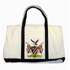Coat Of Arms Of Namibia Two Tone Tote Bag