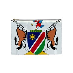 Coat Of Arms Of Namibia Cosmetic Bag (Medium)