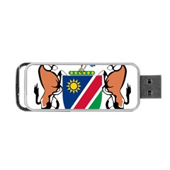 Coat Of Arms Of Namibia Portable USB Flash (One Side)