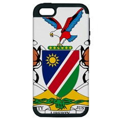 Coat Of Arms Of Namibia Apple iPhone 5 Hardshell Case (PC+Silicone)