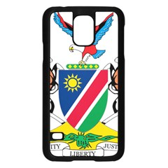 Coat Of Arms Of Namibia Samsung Galaxy S5 Case (Black)