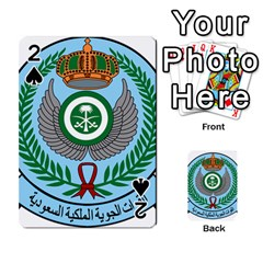 Emblem Of The Royal Saudi Air Force  Playing Cards 54 Designs