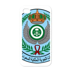 Emblem Of The Royal Saudi Air Force  Apple iPhone 4 Case (White)