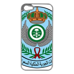 Emblem Of The Royal Saudi Air Force  Apple iPhone 5 Case (Silver)