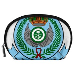 Emblem Of The Royal Saudi Air Force  Accessory Pouches (large)