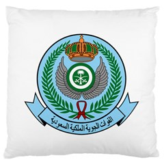 Emblem Of The Royal Saudi Air Force  Standard Flano Cushion Case (Two Sides)
