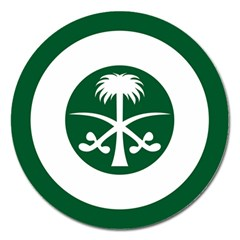 Roundel Of The Royal Saudi Air Force Magnet 5  (Round)