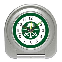 Roundel Of The Royal Saudi Air Force Travel Alarm Clocks