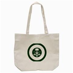 Roundel Of The Royal Saudi Air Force Tote Bag (Cream)