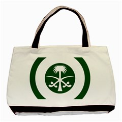 Roundel Of The Royal Saudi Air Force Basic Tote Bag (Two Sides)