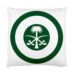Roundel Of The Royal Saudi Air Force Standard Cushion Case (one Side)