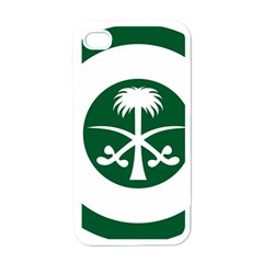 Roundel Of The Royal Saudi Air Force Apple iPhone 4 Case (White)