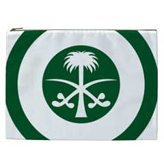 Roundel Of The Royal Saudi Air Force Cosmetic Bag (XXL)