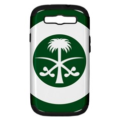 Roundel Of The Royal Saudi Air Force Samsung Galaxy S III Hardshell Case (PC+Silicone)