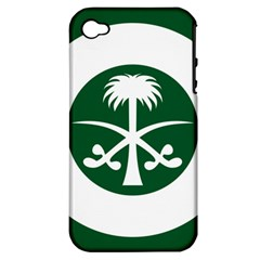 Roundel Of The Royal Saudi Air Force Apple iPhone 4/4S Hardshell Case (PC+Silicone)