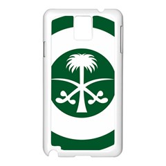 Roundel Of The Royal Saudi Air Force Samsung Galaxy Note 3 N9005 Case (White)