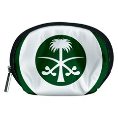 Roundel Of The Royal Saudi Air Force Accessory Pouches (Medium)
