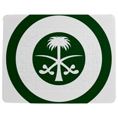 Roundel Of The Royal Saudi Air Force Jigsaw Puzzle Photo Stand (Rectangular)