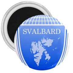 Coat Of Arms Of Svalbard 3  Magnets