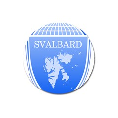 Coat Of Arms Of Svalbard Magnet 3  (round)