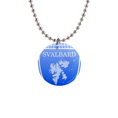 Coat Of Arms Of Svalbard Button Necklaces