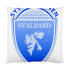 Coat Of Arms Of Svalbard Standard Cushion Case (Two Sides)