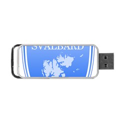 Coat Of Arms Of Svalbard Portable USB Flash (Two Sides)
