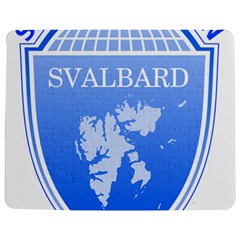 Coat Of Arms Of Svalbard Jigsaw Puzzle Photo Stand (Rectangular)