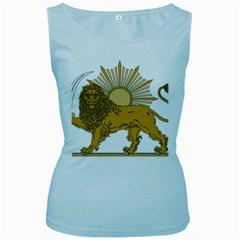 National Emblem Of Iran, Provisional Government Of Iran, 1979 1980 Women s Baby Blue Tank Top