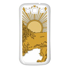 National Emblem Of Iran, Provisional Government Of Iran, 1979 1980 Samsung Galaxy S3 Back Case (White)