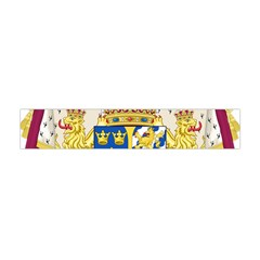 Greater Coat Of Arms Of Sweden  Flano Scarf (Mini)