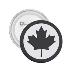 Low Visibility Roundel Of The Royal Canadian Air Force 2.25  Buttons