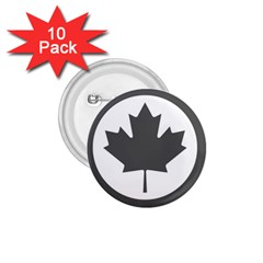 Low Visibility Roundel Of The Royal Canadian Air Force 1.75  Buttons (10 pack)